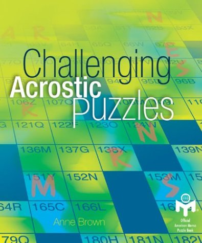 Download Challenging Acrostic Puzzles (Mensa) 1402705824