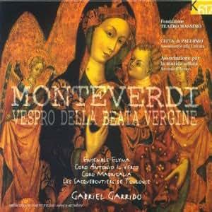 Monteverdi;Vespro Della Beata