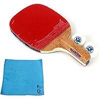 バタフライ(Butterfly) PAN ASIA-P10 卓球 ラケット ペングリップタイプ (ラケット、ボール2個、オリジナル スポーツタオル1枚)