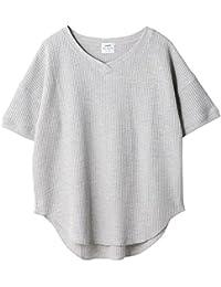 (コーエン) COEN ワッフルVネックTシャツ(カットソー) 76256038034