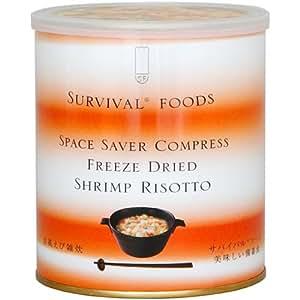 サバイバルフーズ スペースセーバー コンプレス 洋風えび雑炊 430g