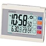 カシオ 温度・湿度計付き 生活環境お知らせ電波クロック DQL-210J-7JF