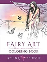 Fairy Art Coloring Book (Fantasy Art Coloring by Selina)