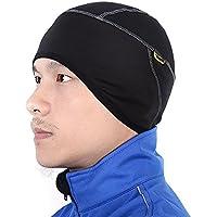 【サンティック】Santic メンズ サイクルキャップ 裏起毛 ヘルメット インナー 吸汗速乾 フリーサイズ