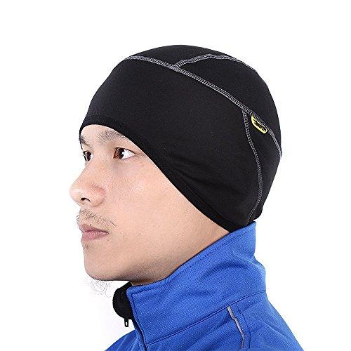 【サンティック】Santic メンズ サイクリング 自転車 キャップ 裏起毛 帽子 ヘルメット インナー 吸汗速乾 フリーサイズ