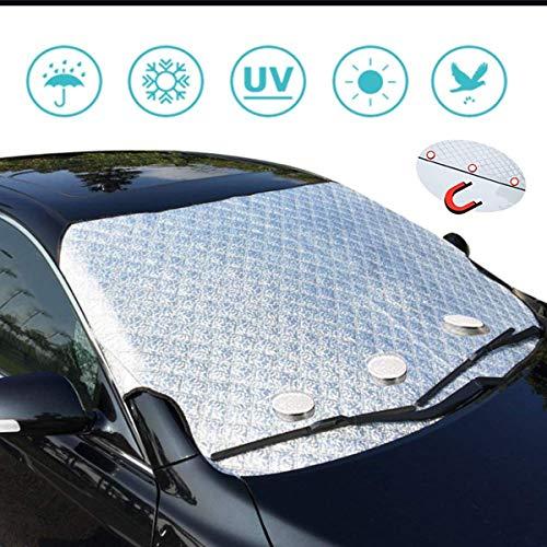 フロントカバー 車フロントガラスカバー フロント防水材料 車サンシェード 凍結防止シート フロントガラスカバー カーシェード サンシェイド