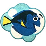 "Finding Dory""Adoryble"" Tufted Shaped Bathroom Rug"