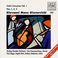 Giornovichi;Violin Concs.1