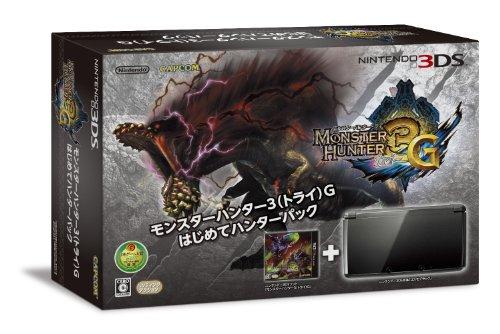 3DSモンスターハンター3  トライ G はじめてのハンターパック コスモブラック