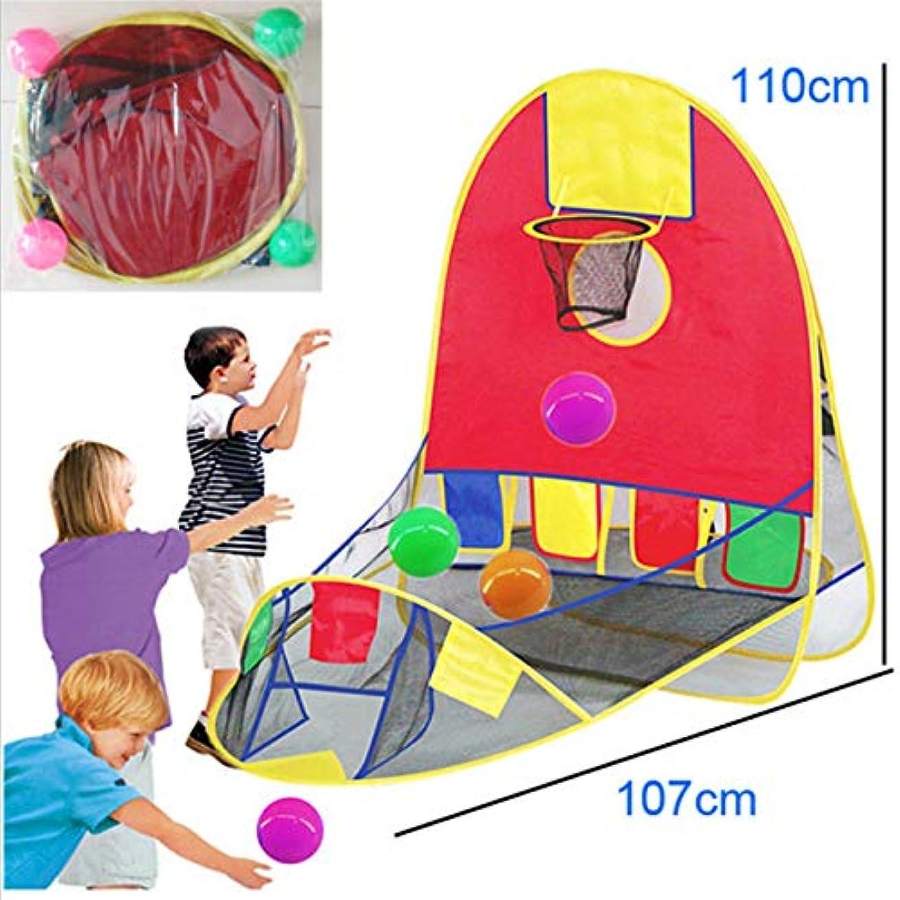 ディレクター持参文芸Love life 子供のボール射撃テントライトとポータブルは、4つのマリンボール110cmX107cmを送信します