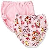 (ディズニー)Disney 美女と野獣2枚組みショーツ 3710R1904  ピンク 100