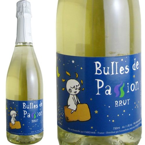 ブル・ド・パッション・ブリュット 白 スパークリングワイン フランス 750ml