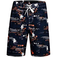 APTRO Men's Swim Shorts Board Shorts Swimwear with Mesh Lining and Pockets