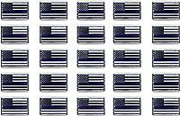 パトリオット警察サポート/トリビュートメモリアル 細いブルーラインフラッグメタルラペルピン