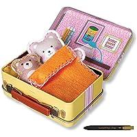 [ヨントイス] Young Toys Secret Art Sewing Pet Traveling Bag Making Bears, 簡単で安全なソーイングセット, 190 x 50 x 240 (mm) / 175g + Free Gift (Ball Pen) [並行輸入品]