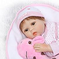 OVERMAL トイ 本物そっくり リボーンベビードール 55cm 新生児 女の子 プレイメイト 誕生日ギフト