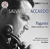 サルヴァトーレ・アッカルド ~パガニーニ:ヴァイオリン協奏曲 第1番&第2番《オリジナルSWRテープ・リマスター 1961-1970》