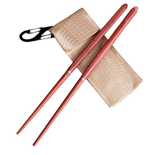 Homeland 折り畳み箸 野箸 ピクニック 旅行 贈り物 収納袋付き