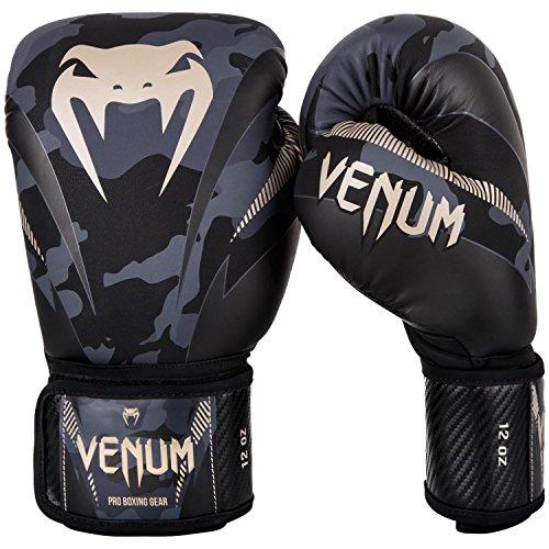 VENUM ボクシンググローブ Impact - インパクト(ダークカモ/サンド)/ Boxing Gloves (10oz)