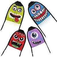 新しい子供指Catapult Small Kites新しい子供アウトドアおもちゃ面白い絵文字Mini Kitesキッズと大人