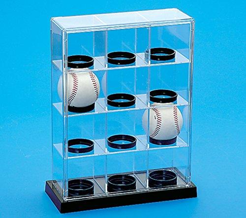 蝶プラ工業 コレクションケース ベースボール 12P