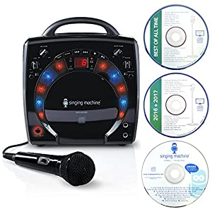 Singing Machine カラオケマシーン ブラック SML283BK