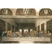 204ピース ジグソーパズル プチ レオナルド・ダ・ヴィンチ 最後の晩餐[修復後] スモールピース(10x14.7cm)