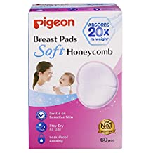 Pigeon Breast Pads Honeycomb, 60ct