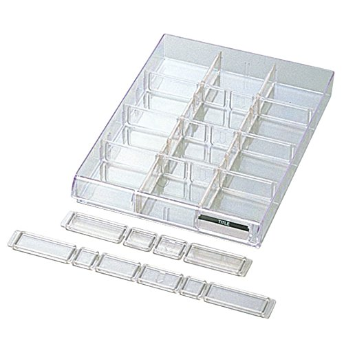 プラス レターケース A4縦 仕切り板セット 浅型用 LC-901A 16-090