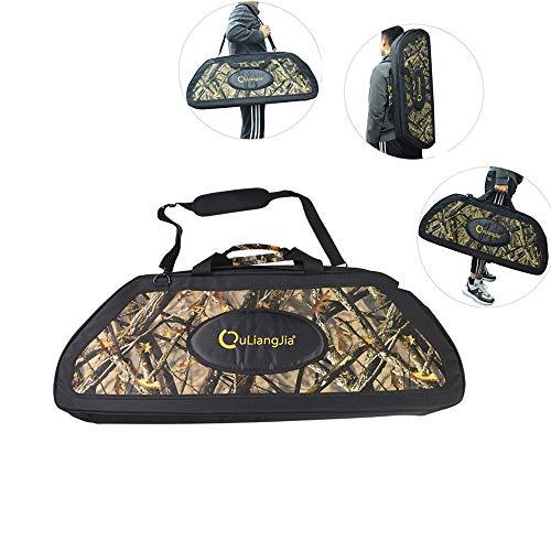 弓箱 弓バックパック コンパウンドボウ用の袋 弓バッグ 弓矢の道具 アーチェリー用 弓の袋 アーチェリーアクセサリー 超便利