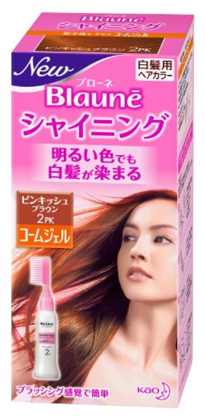 海外眉眉ブローネシャイニングヘアカラーコームジェル 2PK ピンキッシュブラウン