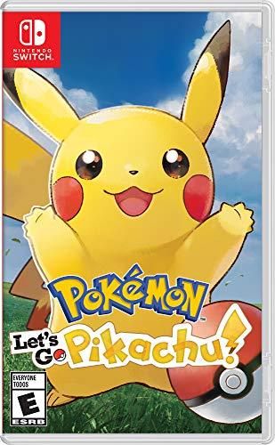America Pokémon: Let's Go, Pikachu! - Nintendo Switch