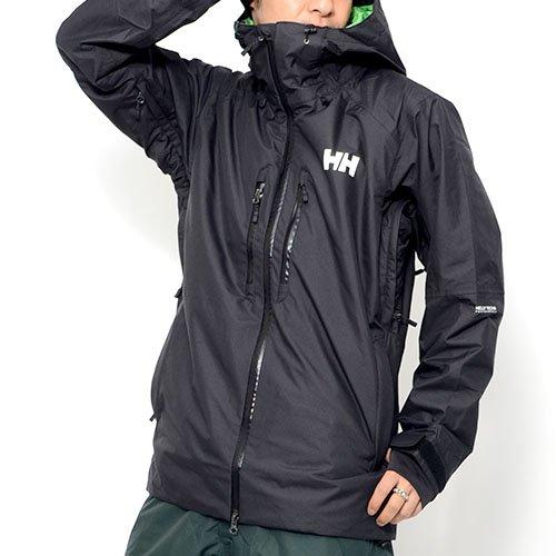 HELLY HANSEN (ヘリーハンセン) スノーボードウェア ジャケット ガンビクバーチカルジャケット スノボ スノーボード メンズ Lサイズ K verticaljacket-L-HSE11560-K