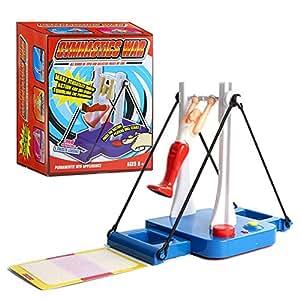 Whatsko 大車輪てつぼうくん 体操マシン玩具 親子ゲーム 知的開発玩具 水平バーの王子 ジャイアントスイング