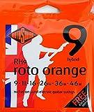 ROTOSOUND ROT-RH9 Roto Orange Hybrid Lt エレキギター弦×3SET