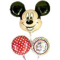 ミッキーの誕生日風船バルーンブーケ