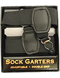 米国製Wグリップ殿方用靴下吊SockSuspender1WG Black B071