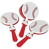 Plastic Baseball Clappers (1 dozen) - Bulk by Fun Express [並行輸入品]