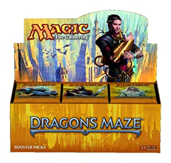 マジック:ザ・ギャザリング ドラゴンの迷路 ブースターパック 英語版 BOX