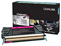 Lexmark Magenta Return Program Toner Cartridge for US Government, 7000 Yield (X746A4MG) by Lexmark