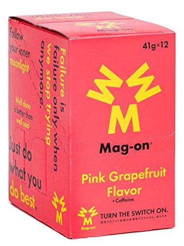 Mag-on(マグオン) エナジージェル ピンクグレープフルーツ味 12個入り TW210233