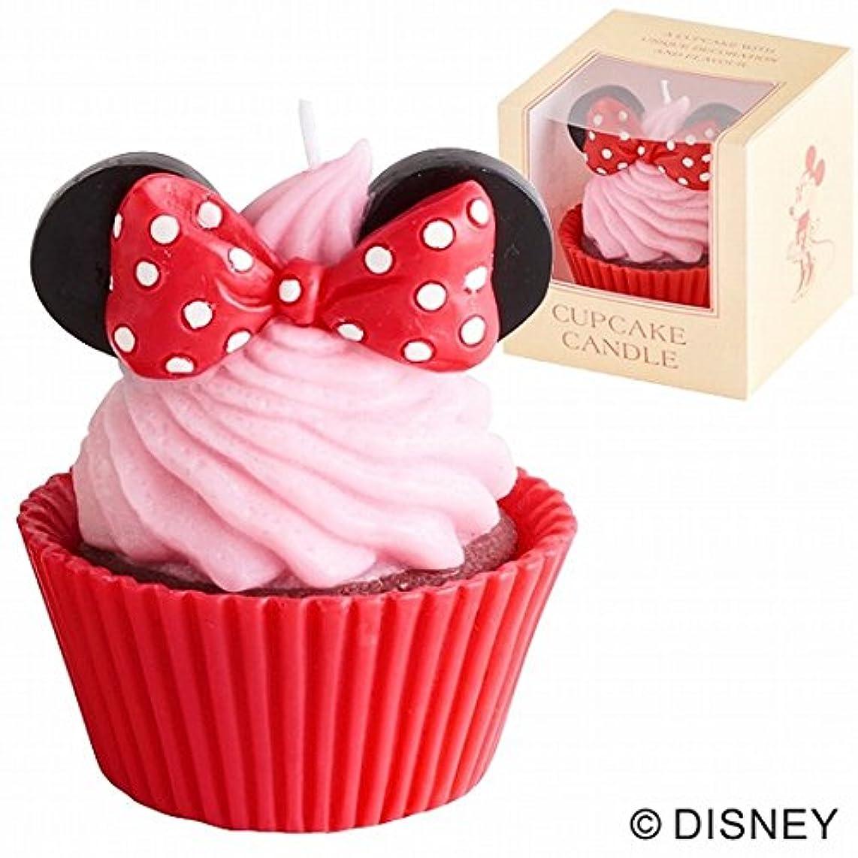 より平らな発行するむさぼり食うカメヤマキャンドル( kameyama candle ) ディズニーカップケーキキャンドル 「ミニー」