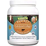 Collagen Perfect Hydrolyzed Protein Peptides SUGAR FREE 660G tub powder Perfect Supplements Australia Hydrolyzed Collagen Powder from 100% Grass-fed Brazilian Pasture raised cows.