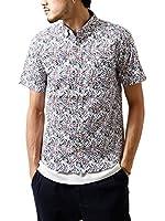 (ジップファイブ) ZIP FIVE ボタンダウンブロード半袖シャツ/メンズ ファッション