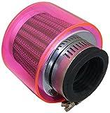 アルバ スクーター汎用 パワーフィルター(ピンク) φ35 403-0005