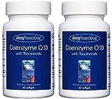 コエンザイムQ10 トコトリエノール 60ソフトカプセル(Coenzyme Q10 with Tocotrienols 60 Softgels) [海外直送品] 2ボトル