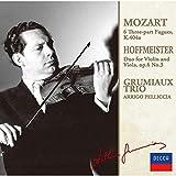 モーツァルト:3声のフーガ集/ホフマイスター:ヴァイオリンとヴィオラのための二重奏曲(限定盤)