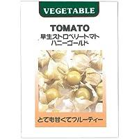 葉菜類 種 食用ほおずき ストロベリートマト ハニーゴールド 小袋
