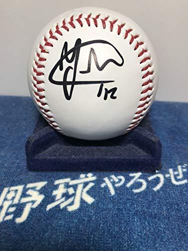 阪神タイガース 新外国人 Y.ソラーテ選手♯42 直筆サインボール&証拠写真付き