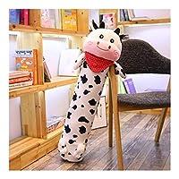 GAOJI 大型豪華な枕、スーパーソフトワニぬいぐるみのおもちゃ、子供の誕生日、クリスマス、バレンタインデー (色 : A, サイズ : 90cm)